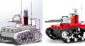 Prototyp robota dezynfekującego opracowany zaledwie w ciągu tygodnia