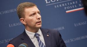 Schreiber: Liczymy na uruchomienie środków z PFR w styczniu