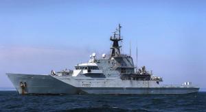 Wysoka aktywność rosyjskich okrętów wokół Wielkiej Brytanii