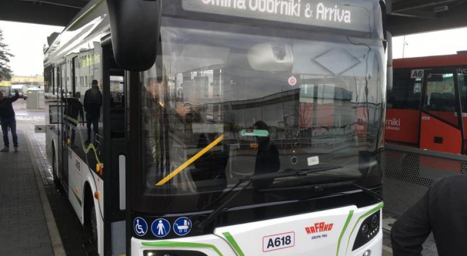Autobus Rafako Ebus na kolejnych testach w gminach