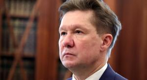 Prezes Gazpromu pokieruje firmą dłużej niż 20 lat