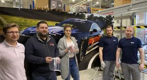 Czołowa firma automotive drukuje przyłbice dla polskich lekarzy