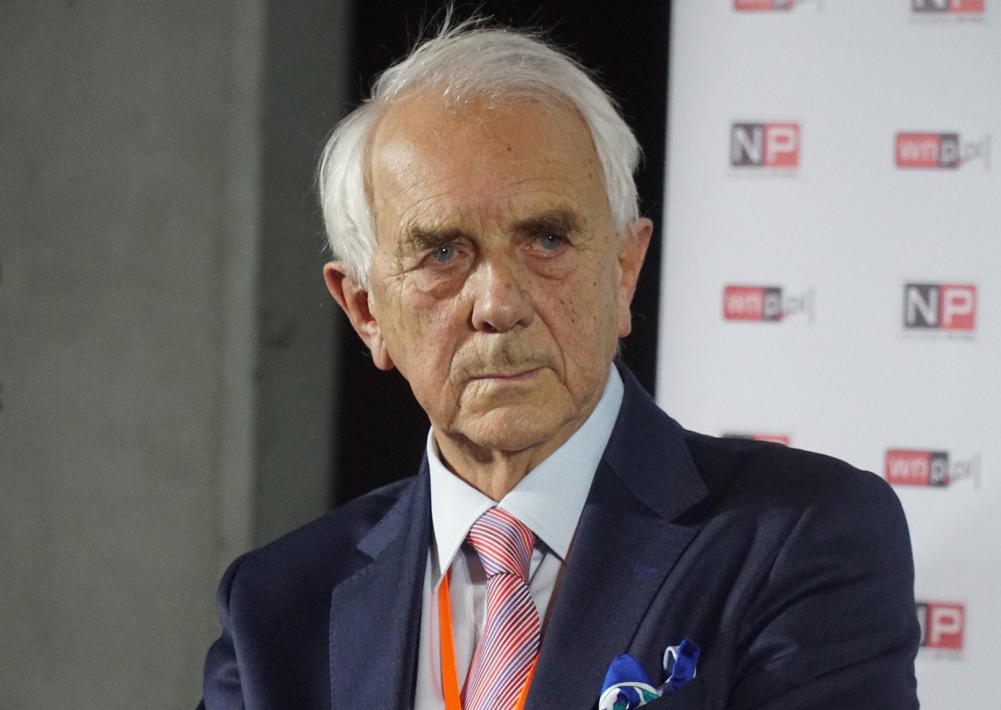 Herbert Leopold Gabryś wskazuje, że ceny prądu mocno pójdą w górę Fot. PTWP