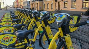 Rowery miejskie są w Helsinkach jednym ze sposobów ograniczających epidemię