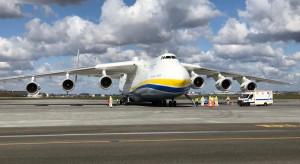 W Warszawie wylądował największy samolot świata