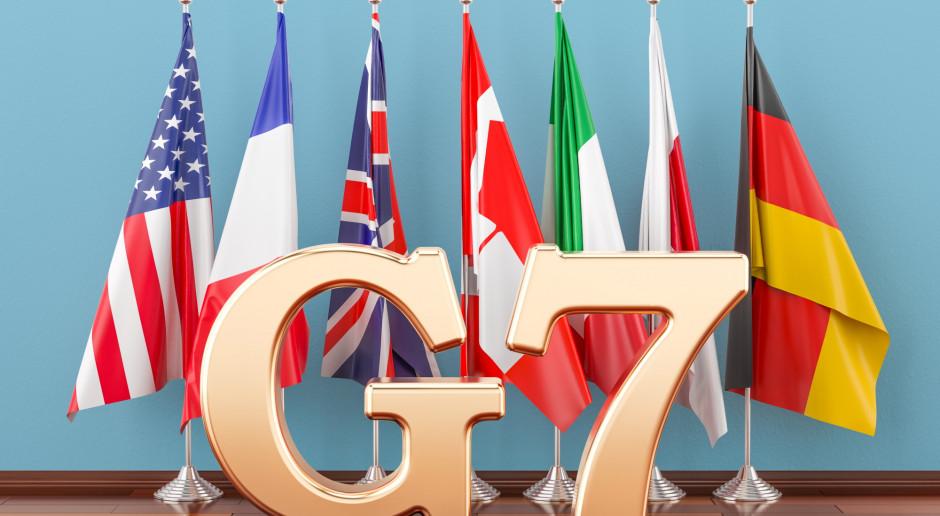 """Kraje G7 podejmą """"wszystkie konieczne kroki"""", by ratować gospodarkę"""