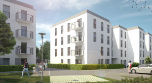 W Dębicy trwa budowa bloków w ramach programu Mieszkanie Plus