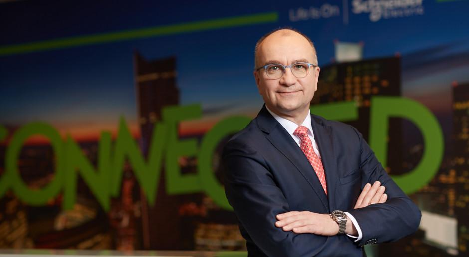 Jacek Łukaszewski, Schneider Electric: Czas pokaże, do czego zostaniemy zmuszeni