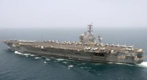Donald Trump grozi zniszczeniem irańskich okrętów