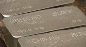 KGHM drugim na świecie producentem srebra