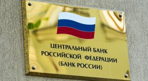 Rosyjski bank centralny sprzedał rekordową ilość waluty, by wesprzeć rubla