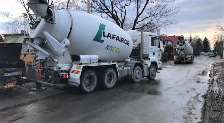 Lafarge wprowadza beton bez emisji CO2