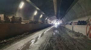 Przebito drugą nitkę tunelu w ciągu ekspresowej Zakopianki