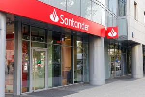 Rozczarowujące wyniki Santandera