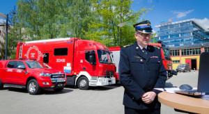 """""""Kolejowe"""" pieniądze pozwolą kupić strażakom pojazdy do pracy w strefach skażenia"""