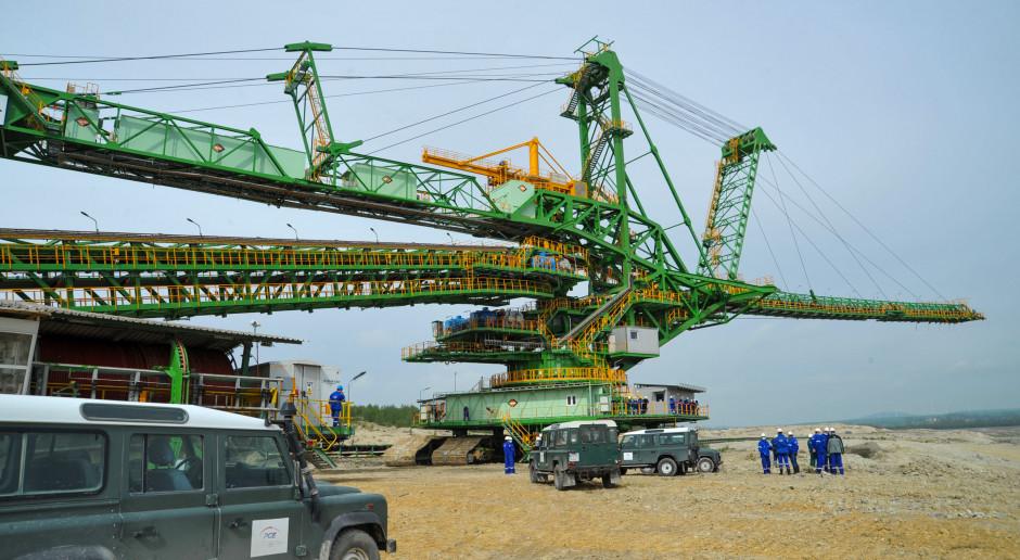 Maszyna-gigant rozpoczęła pracę w kopalni Turów