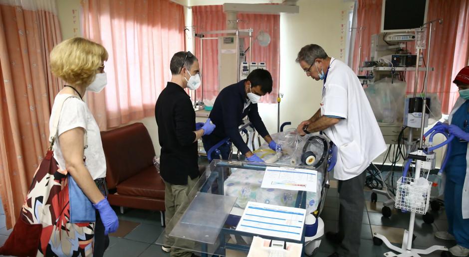 Rafael: wojskowy hi-tech pomocny w szpitalach