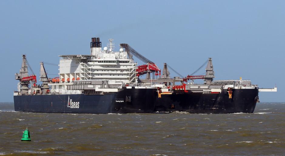Gazprom ma nowy plan ukończenia Nord Stream 2. W Niemczech są już dwa statki