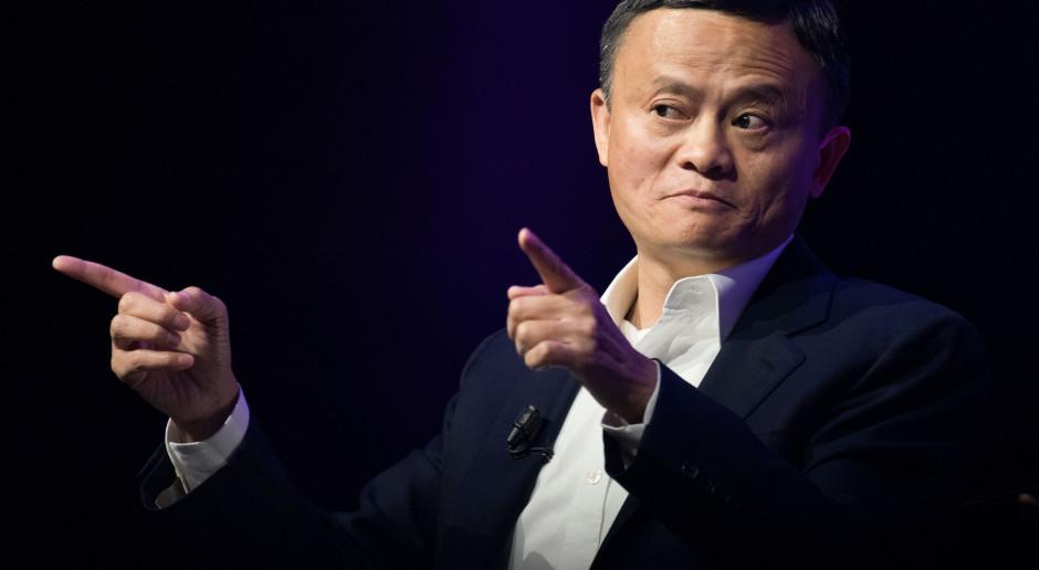 Jack Ma najbogatszym Chińczykiem. Zarabia 5,5 mln zł na godzinę