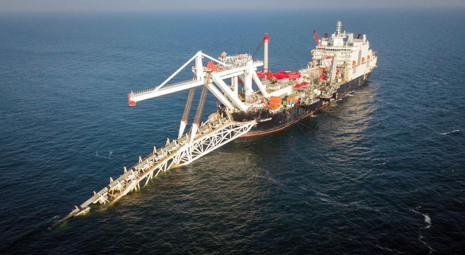 Statek, który ma ukończyć Nord Stream 2 znów zmienił właściciela
