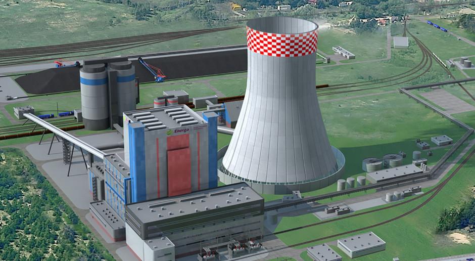 Wizualizacja węglowej elektrowni Ostrołęka C ( Fot. mat. pras. archiwum).
