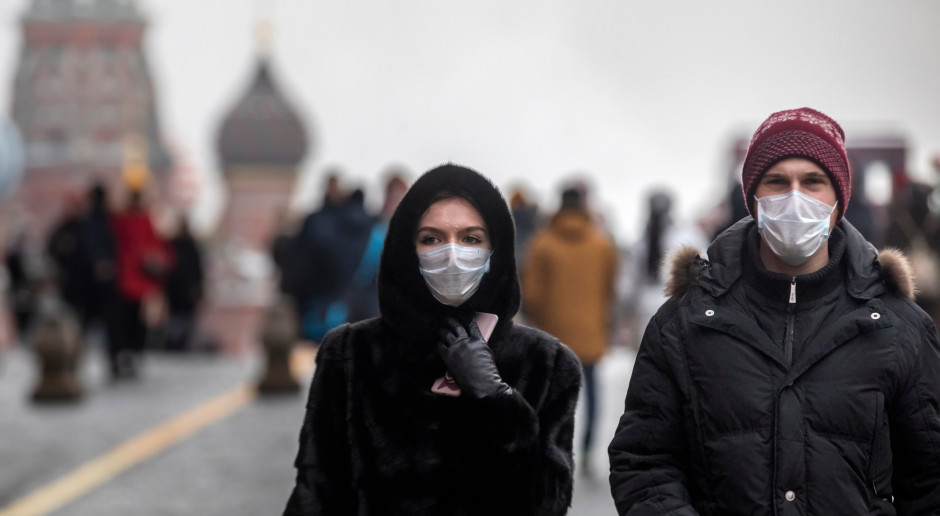 Rosja: Dobowy przyrost zakażeń koronawirusem znów przekroczył 22 tysiące