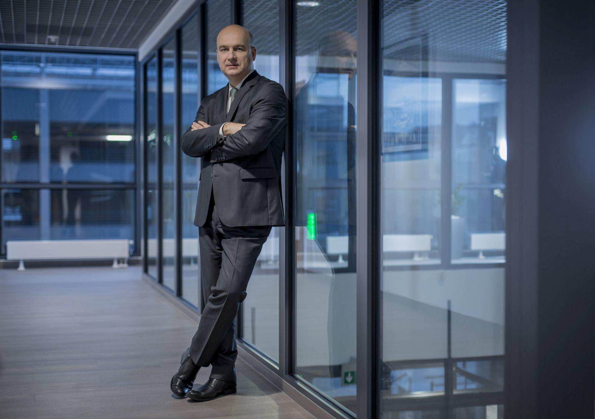 Robert Zasina, prezes zarządu Tauron Dystrybucja ( Fot. mat. pras. archiwum)