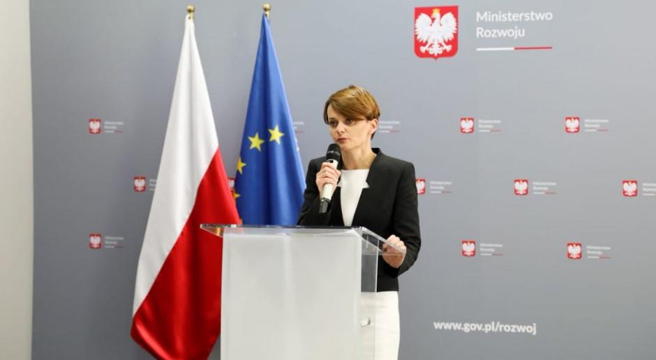 Emilewicz: w tym roku do przedsiębiorców trafi prawie 300 mln zł w ramach dopłat do odsetek kredytów
