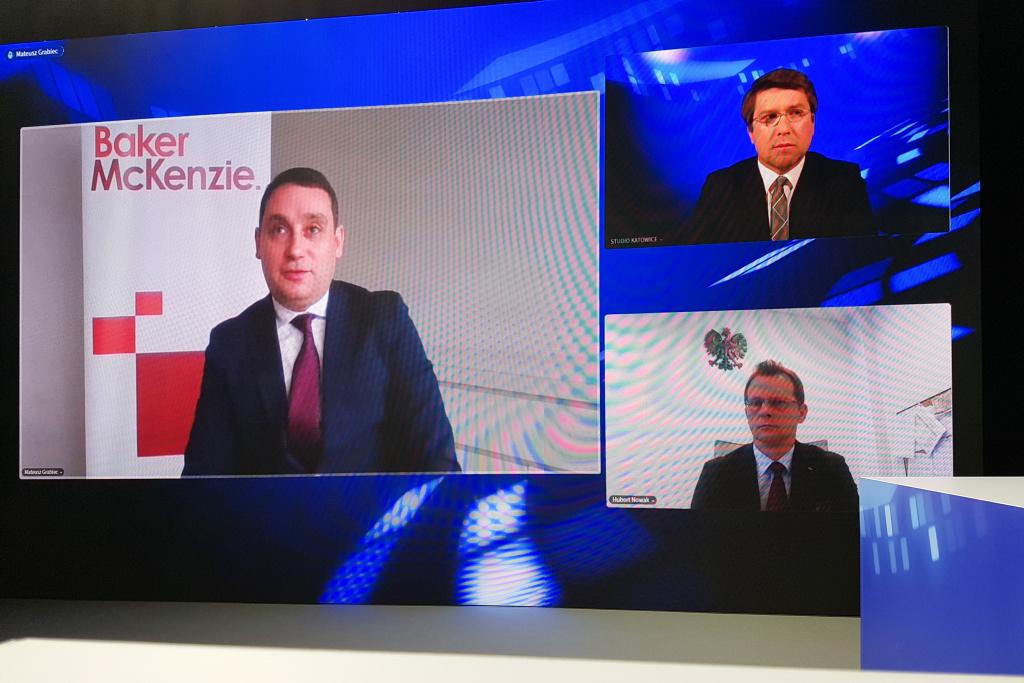 Mateusz Grabiec podczas EEC Online. Fot. PTWP