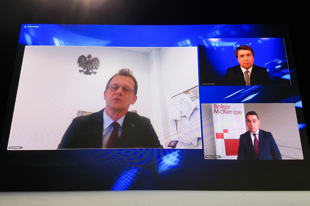 Hubert Nowak podczas EEC Online. Fot. PTWP