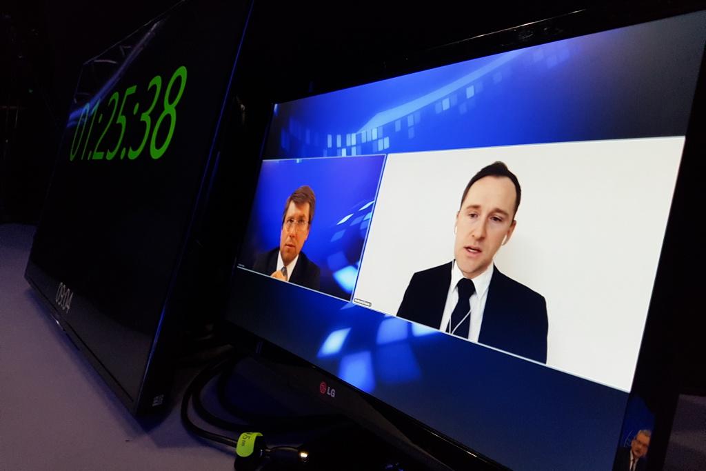 Bartłomiej Sosna podczas EEC Online. Fot. PTWP