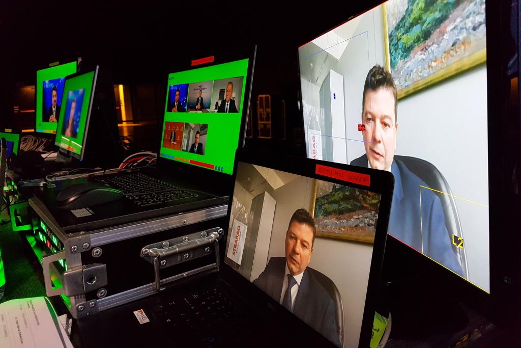 Wojciech Trojanowski podczas EEC Online. Fot. PTWP