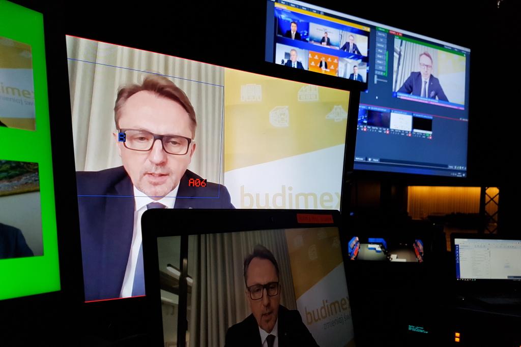 Dariusz Blocher podczas EEC Online. Fot. PTWP
