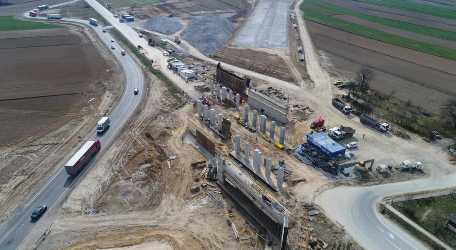 Protest na budowie Zakopianki. Minister zapowiada interwencję