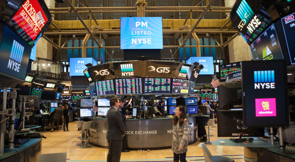 Wzrosty na Wall Street - liderami spółki nowych technologii