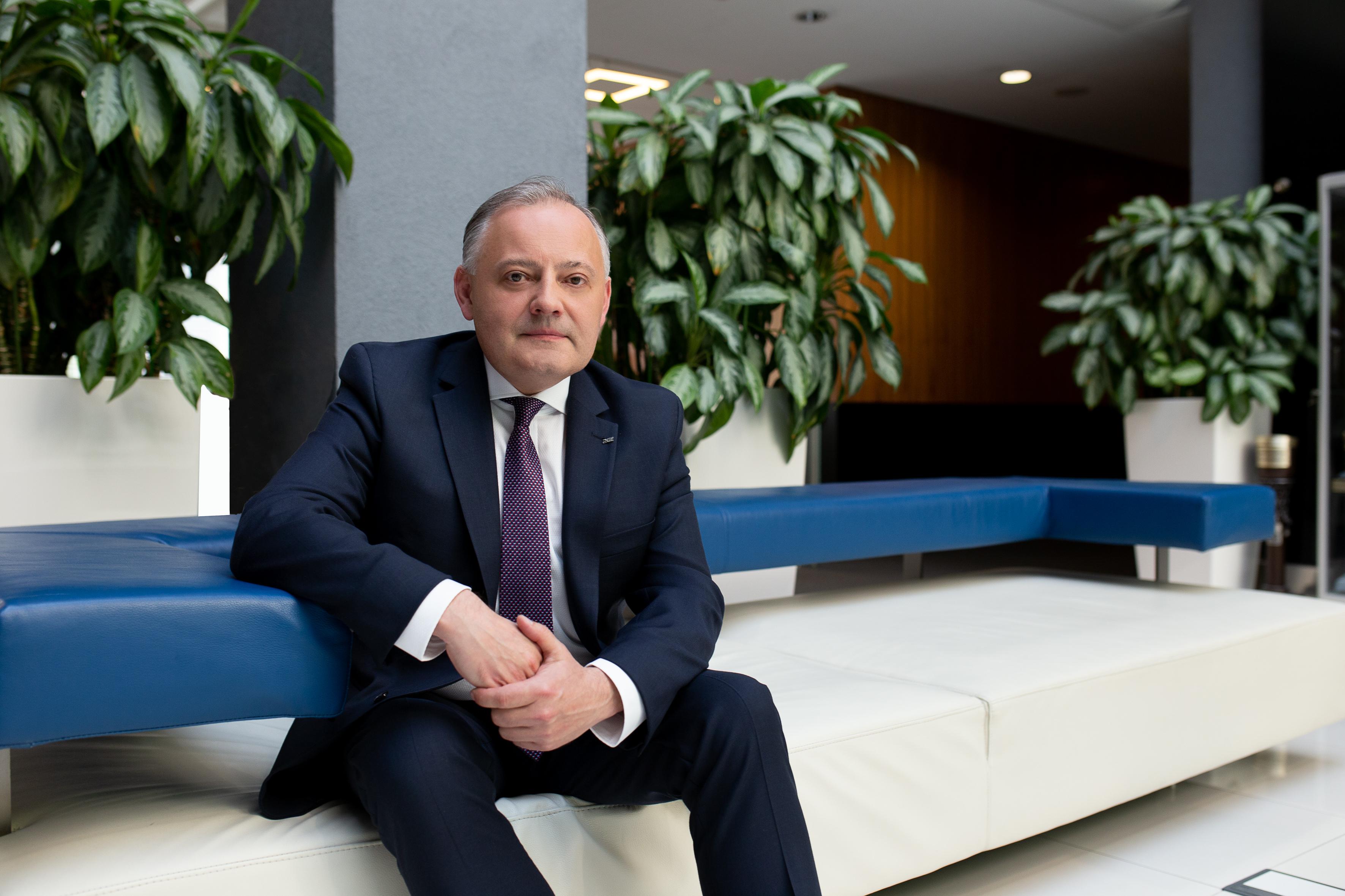 Wojciech Dąbrowski, prezes zarządu PGE ( Fot. mat. PGE)