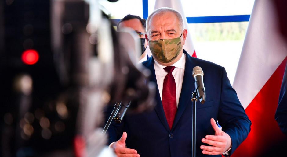 Sasin: Budowa CPK nie jest zagrożona
