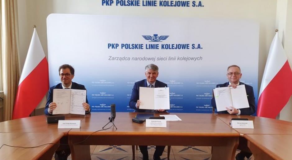 Modernizacja tras kolejowych Tłuszcz-Ostrołęka i Kutno-Płock-Sierpc