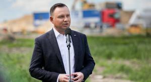 Prezydent na budowie Via Baltica: wielkie inwestycje sprzyjają rozwojowi Polski