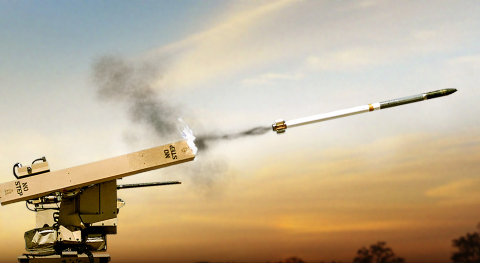 BAE Systems przetestowało rakiety kierowane laserowo