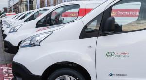 Poczta Polska zadowolona z elektrycznych samochodów