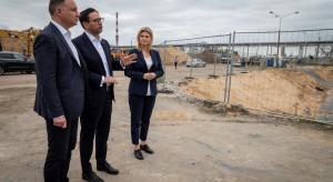 Andrzej Duda na placu budowy wartej ponad 1,3 mld zł inwestycji w Anwilu