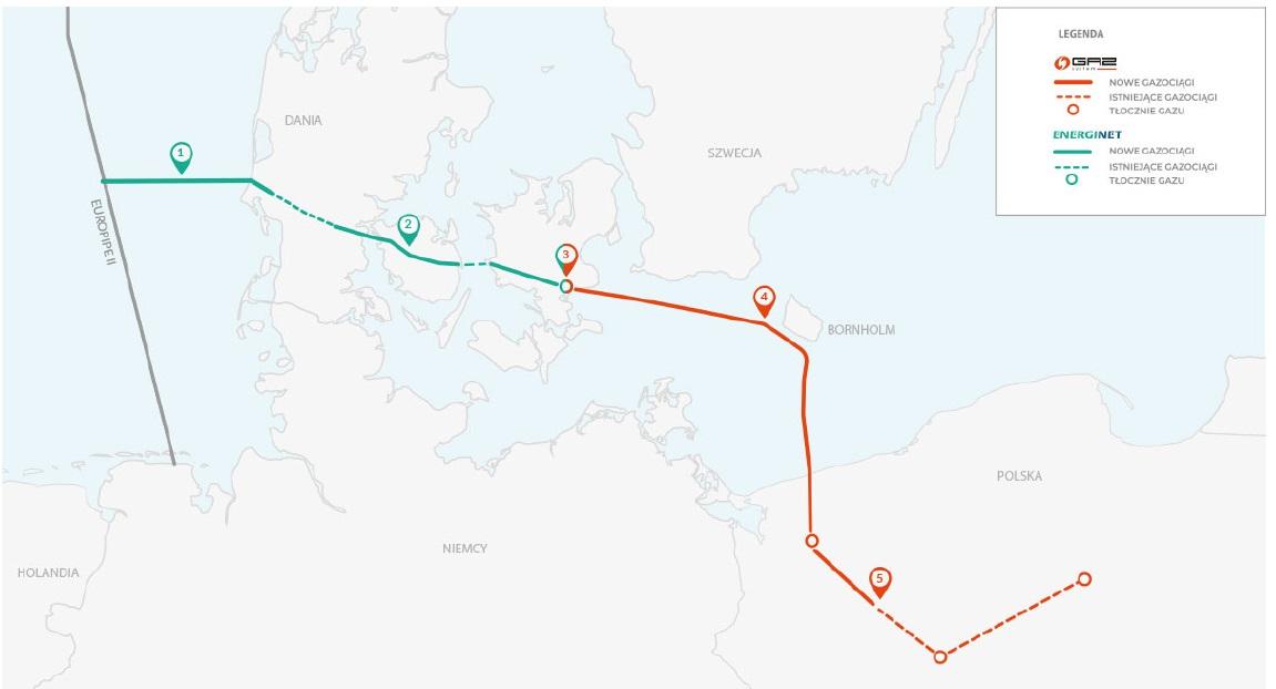 Zagrożony jest termin zielonej części gazociągu. Fot. mat. pras.