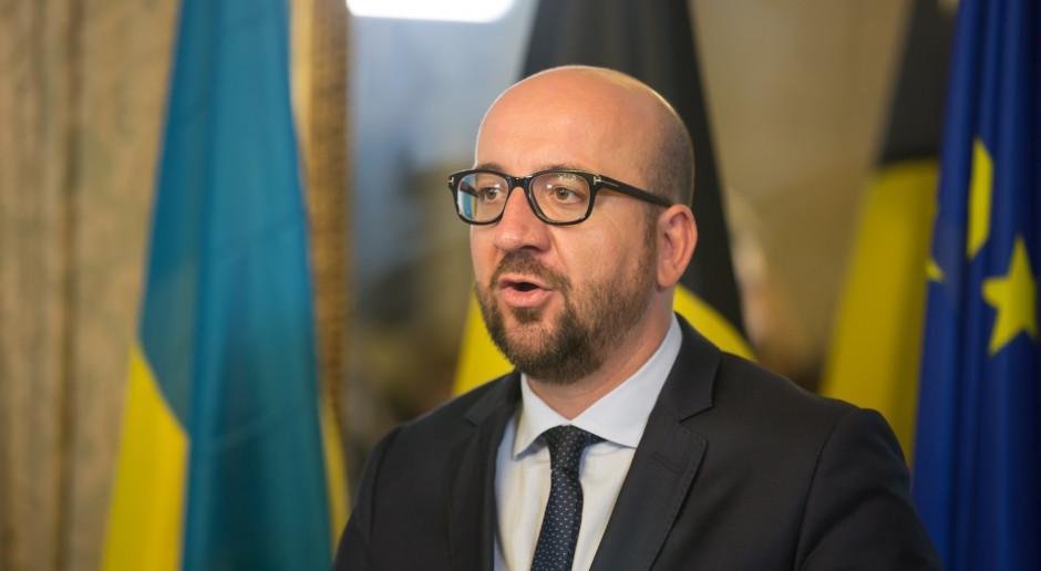 Włochy: Charles Michel o sofa-gate: Jest mi bardzo przykro
