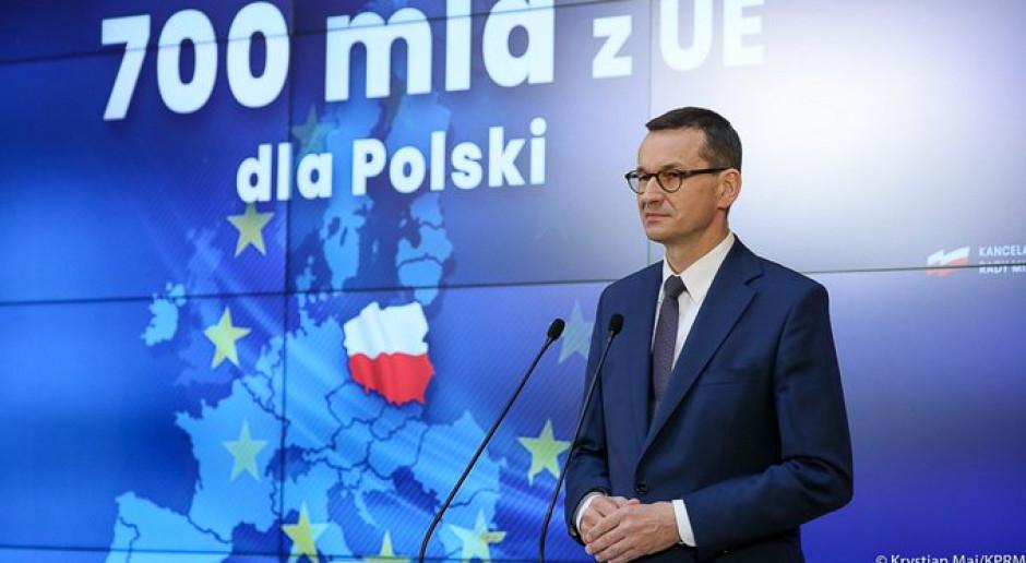 Premier: fundusz odbudowy dla Polski będzie większy, niż sugerowano