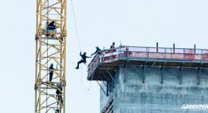 Greenpeace zakończył protest na placu budowy Elektrowni Ostrołęka C