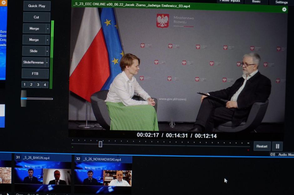 JadwigaEmilewicz, wicepremier, minister rozwoju, w rozmowie z Jackiem Ziarno, redaktorem naczelnym Magazynu GospodarczegoNowy Przemysł.