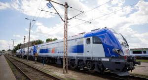 Nowe lokomotywy PKP Intercity wyjeżdżają na tory