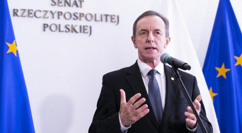 Marszałek Senatu chce od premiera informacji o stanie finansów państwa