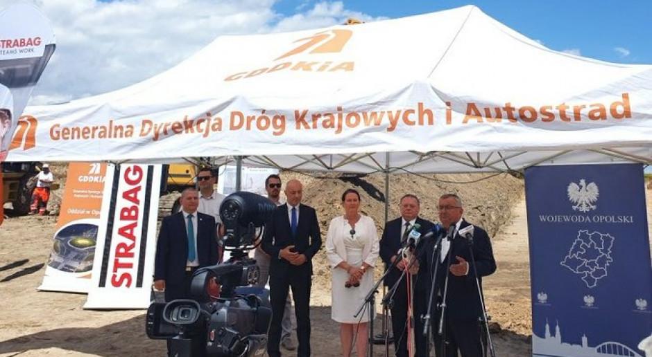Budowa północnej obwodnicy Kędzierzyna-Koźla rozpoczęta